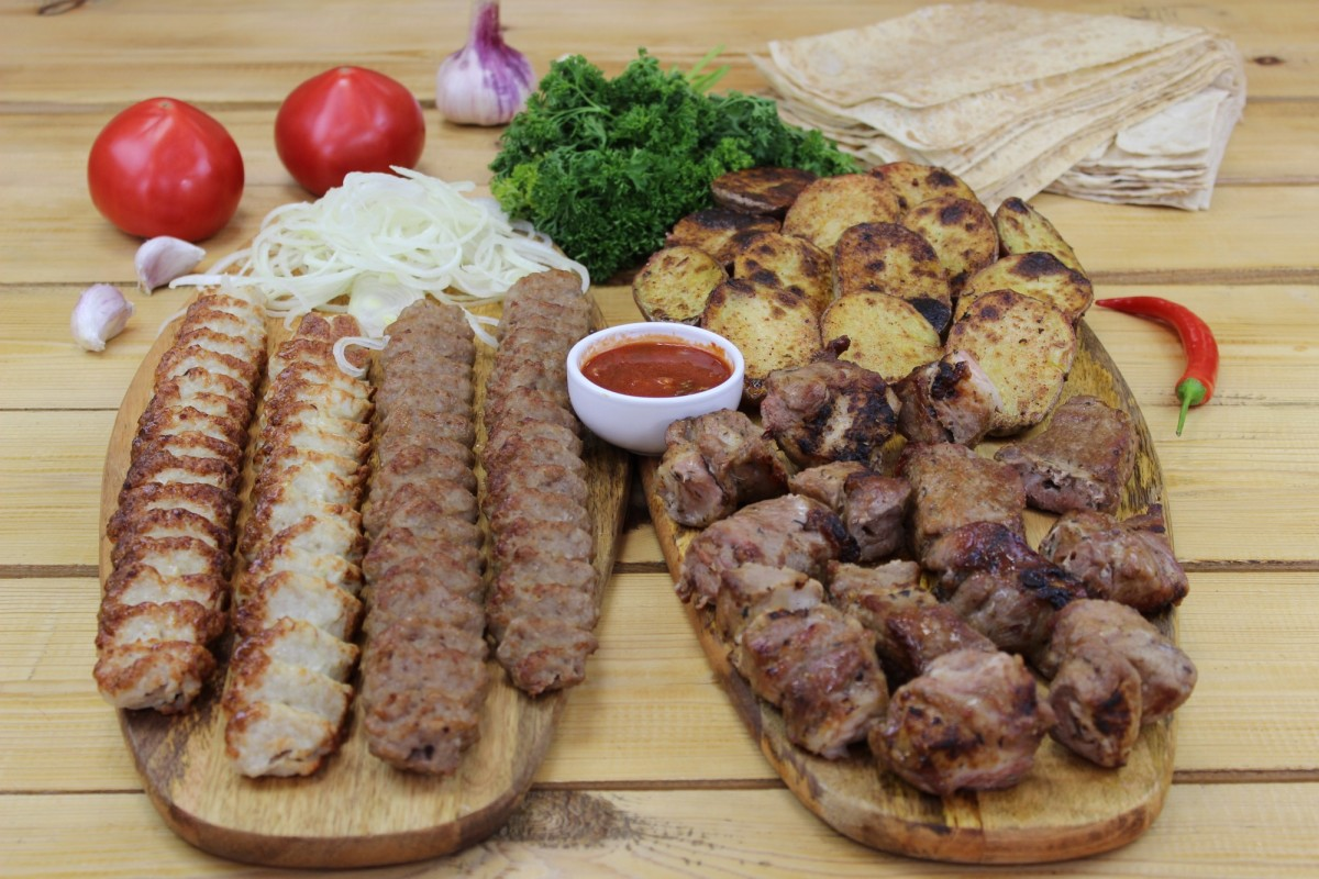 Блюдо на компанию из 6 человек (вес 1900 грамм)
